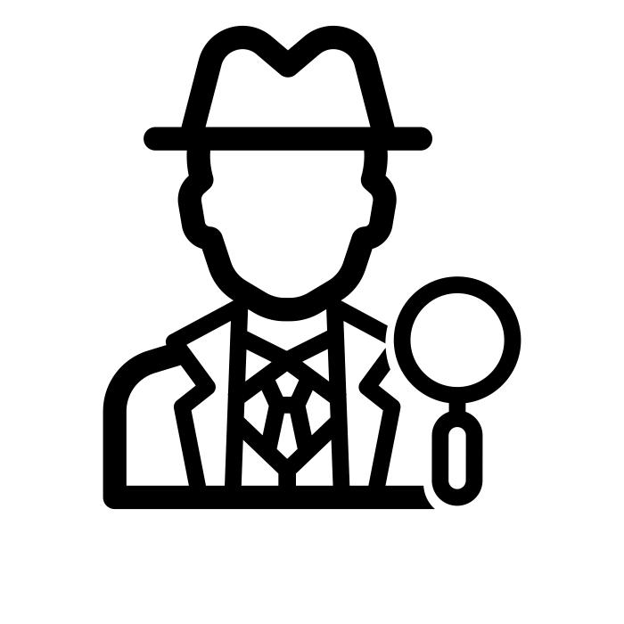 Copyright The Noun Project - Detective_2588712